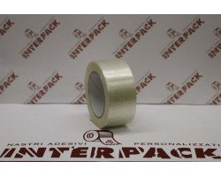 Nastro Rinforzato Colla Hot Melt Unidirezionale H.50 Mm X 50 M